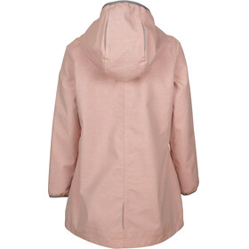 Elkline Tröpfchen Rain Jacket Girls red-white